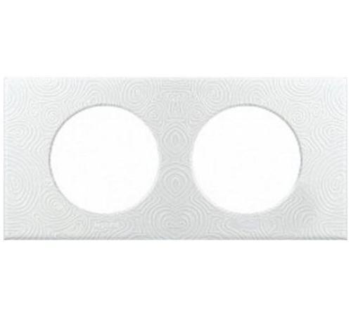 Рамка Legrand 2 поста белый 31611 цена
