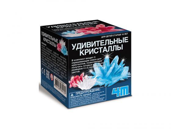 Игровой набор 4M Удивительные кристаллы Мультицвет 00-03913 набор 4m 00 03235 космическая ракета