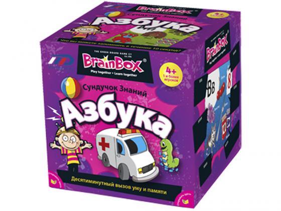 Настольная игра развивающая BrainBox Азбука 90720 brainbox brainbox игра сундучок знаний россия