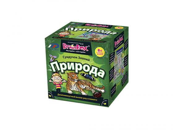 Настольная игра развивающая BrainBox Природа 90703 brainbox brainbox игра сундучок знаний россия