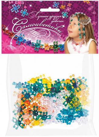 Набор для творчества Биплант Самоцветики в пакете № 3 зеленый 80 шт 11014 набор для творчества биплант красотка 60 шт