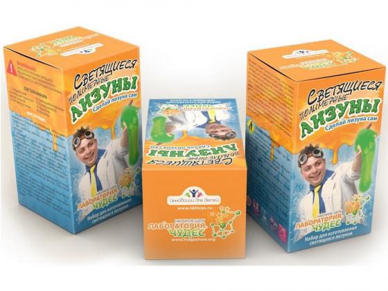 Игровой набор Инновации для детей Светящиеся лизуны 820 игровой набор инновации для детей малый 501 6 предметов
