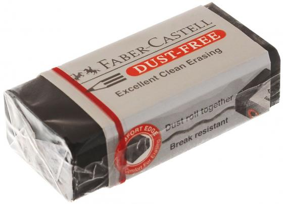 Ластик Faber-Castell Dust Free 263424 1 шт прямоугольный ластик faber castell dust free 41х18 5х11 5 винил