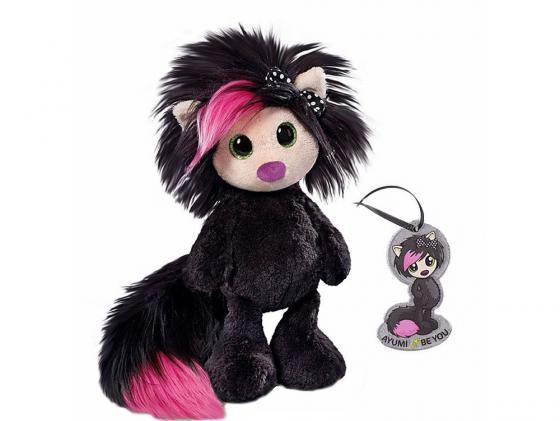 Мягкая игрушка Айюми Nici Тайна, сидячая с подвеской 30 см черный плюш 37401 nici мягкая игрушка овечка френсис сидячая