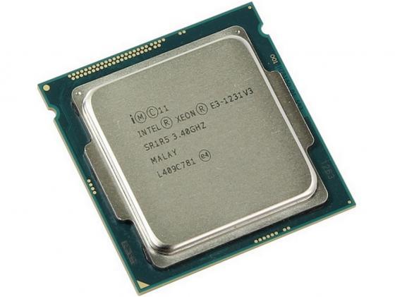 Процессор Intel Xeon E3-1231v3 3.4GHz 8Mb LGA1150 BOX intel четырёхъядерные процессоры e3 1231v3 1150 коробочный процессор интерфейса
