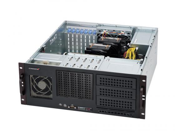 лучшая цена Серверный корпус Supermicro CSE-842I-500B 4U ATX 5x3.5'' 500Вт черный