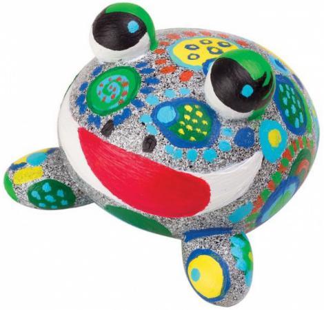 Набор Раскрась лягушку, от 8-ми лет набор для вязания alex шапки и шарфа от 7 лет 87pn