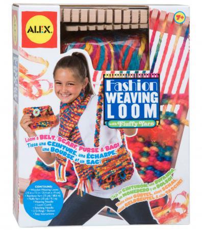 Игровой набор ALEX Ткацкий станок 4 предмета 27WN наборы для творчества alex ткацкий станок