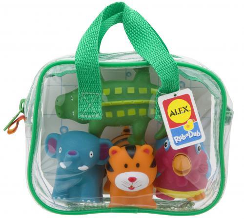 Интерактивная игрушка Alex Джунгли до 1 года разноцветный игрушка для ванной alex alex игрушка для ванной черепашка