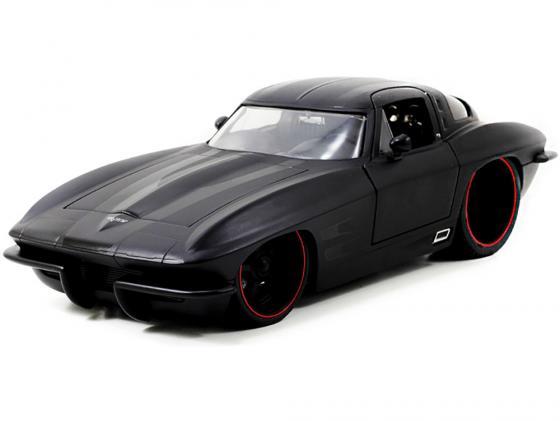 Автомобиль Jada Toys Corvette Stingray Centennial 1963 1:18 в ассортименте автомобиль jada toys corvette stingray concept glossy 1 18 серебристый 96326s
