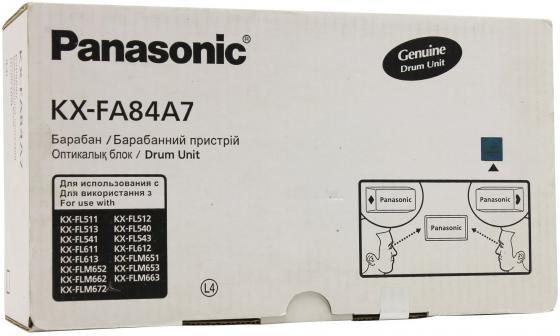 Фотобарабан Panasonic KX-FA84A/7 для Panasonic LASER FAX KX-FL511 551 513 541 FLM653 атс panasonic kx tem824ru аналоговая 6 внешних и 16 внутренних линий предельная ёмкость 8 внешних и 24 внутренних линий