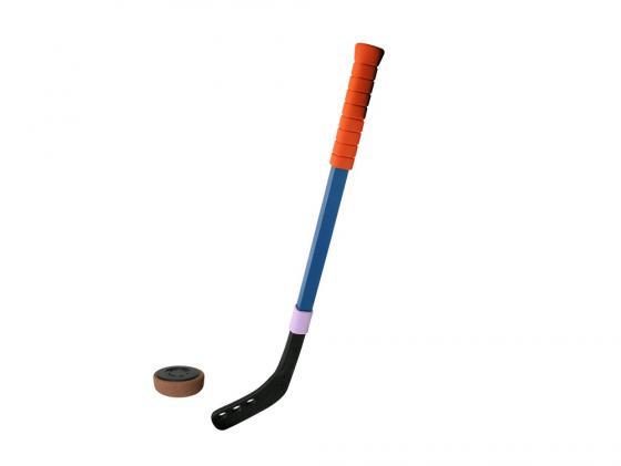 Игрушка клюшка хоккейная 70см+шайба 00127 клюшка хоккейная grom woodoo200 jr правая