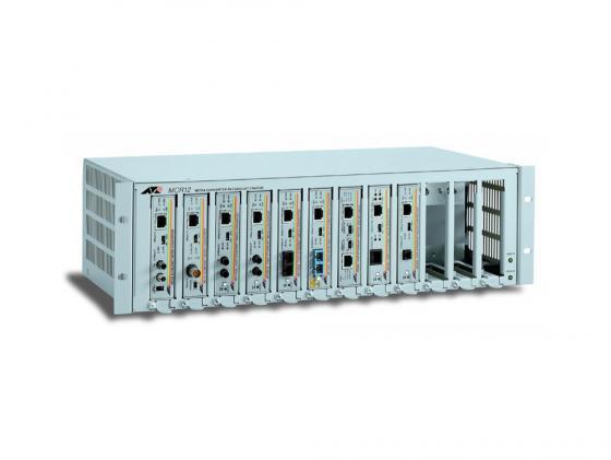 Шасси Allied Telesis AT-MCR12 12slot media converter rackmount with redundant power option цена