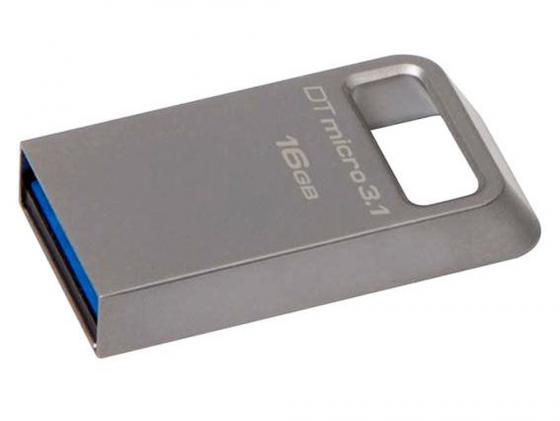 Флешка USB 16Gb Kingston DTMC3/16GB USB3.0 серый pqi iconnect mini 16gb серый