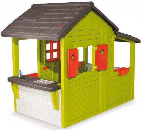 Игровой домик Smoby Садовод 310300 домик игровой smoby с кухней красный 145 110 127см 1 1 810702