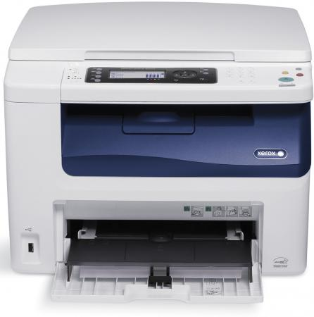МФУ Xerox WorkCentre WC6025V/Bi цветное A4 12/10ppm 2400x1200dpi Wi-Fi USB мфу xerox workcentre 3215ni ч б а4 27ppm автоподатчиком lan wi fi