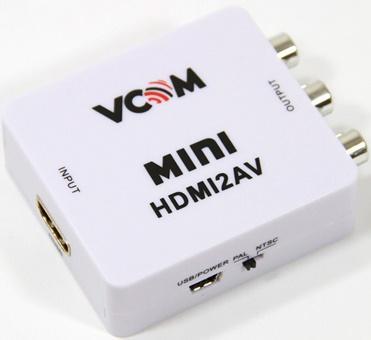 Конвертер VCOM HDMI-RCA DD494 конвертер av hdmi vcom dd497