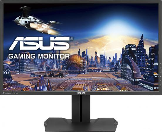 Монитор 27 ASUS MG279Q черный IPS 2560x1440 350 cd/m^2 4 ms HDMI DisplayPort Mini DisplayPort Аудио USB 90LM0103-B01170/90LM0100-B01170 asus g60j купить в москве
