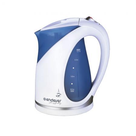 Чайник Kromax Skyline KR-312 2200 Вт 1.7 л пластик белый синий pro svet light mini par led 312 ir