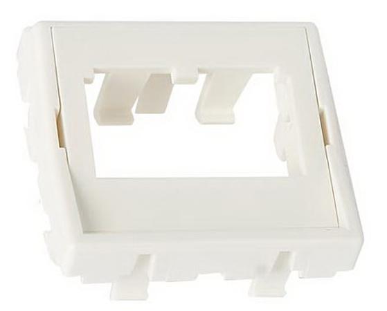 лучшая цена Панель Panduit CFPFF2AW на 2 модуля прямая этикетка рамка 45x45