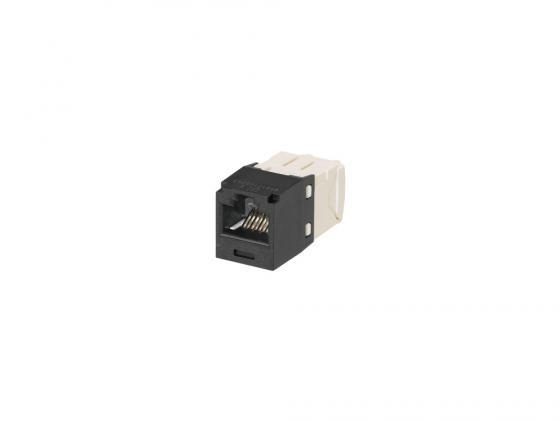 лучшая цена Модуль Panduit TX6 CJ688TGBL Mini-Com RJ45 кат.6 черный