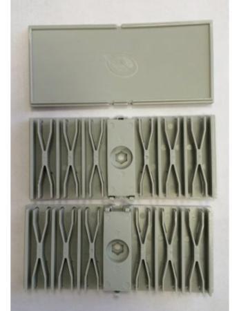 Набор сплайс-кассет Brand-Rex FPCFMKIT001 для монтажа в оптическую полку 24 порта