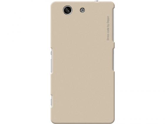 Чехол Deppa Air Case  для Sony Xperia Z3\\Z4 Compact золотой 83194