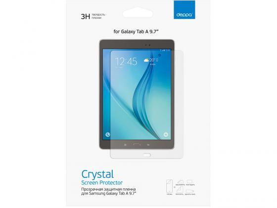 Защитная пленка Deppa для Samsung Galaxy Tab A9.7 прозрачная 61390 аксессуар защитная пленка samsung galaxy tab a 9 7 deppa transperent 61390