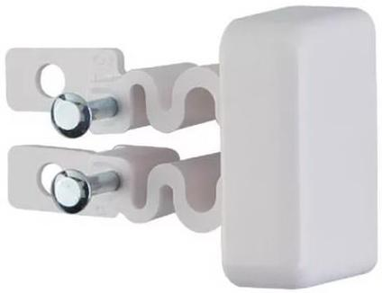 Заглушка Legrand для кабель-канала 40х12.5 белый 31204 заглушка legrand 13 модулей белый 01662