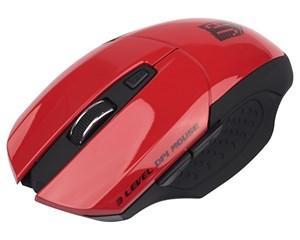 Мышь беспроводная Jet.A OM-U38G красный USB