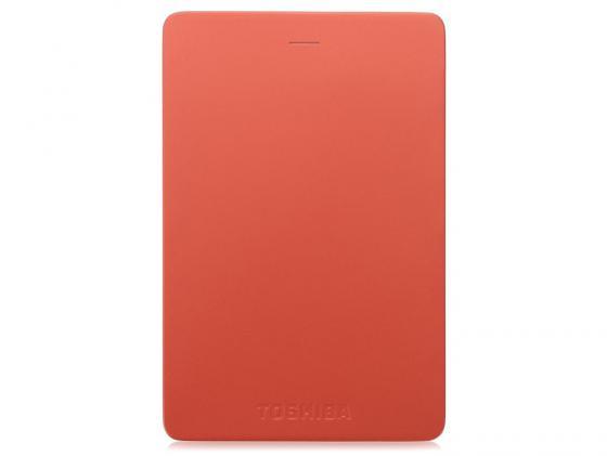 Внешний жесткий диск 2.5 USB3.0 2Tb Toshiba Canvio Alu HDTH320ER3CA красный