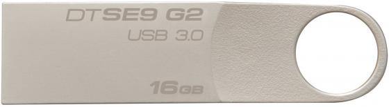 цены Флешка USB 16Gb Kingston DataTraveler SE9 серебристый DTSE9G2/16GB