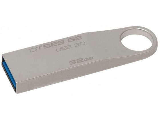 Флешка USB 32Gb Kingston DataTraveler SE9 DTSE9G2/32GB серебристый флешка usb 128gb kingston datatraveler se9 g2 dtse9g2 128gb серебристый