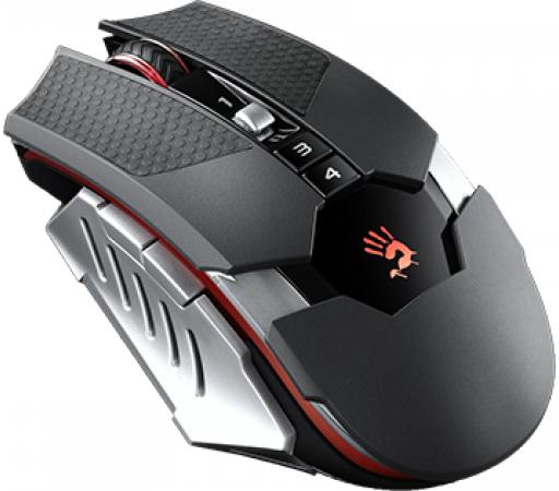 все цены на Мышь проводная A4TECH Bloody T50 Winner чёрный серый USB