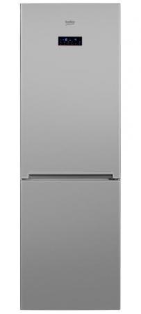 Холодильник Beko RCNK365E20ZS серебристый  холодильник beko rcnk320k00s серебристый