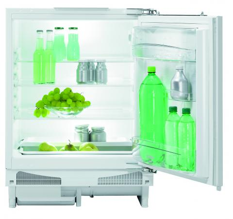 все цены на Встраиваемый холодильник Gorenje RIU6091AW белый онлайн