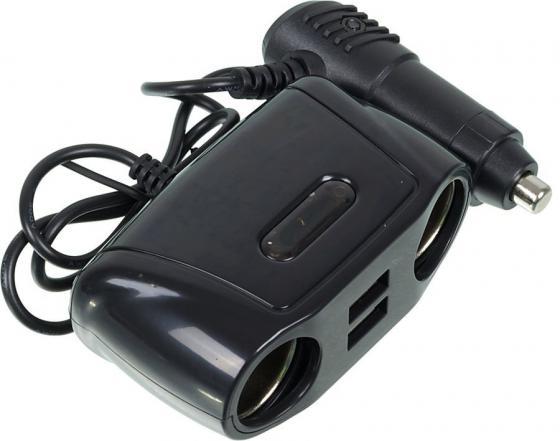 Разветвитель прикуривателя Wiiix TR-04U2 разветвитель розетки прикуривателя wiiix tr 01c