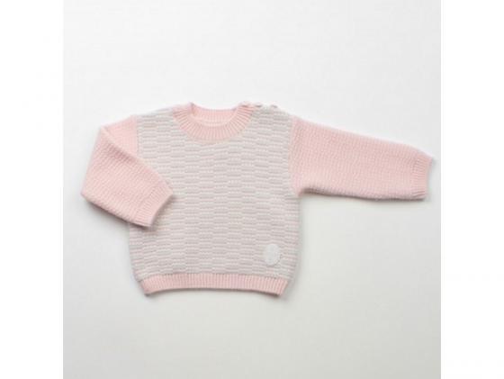 Джемпер Jacot шерсть, светло-розовый BG00524 рост 62 рейтузы jacot шерсть цвет светло серый вв00904 рост 62 размер 18