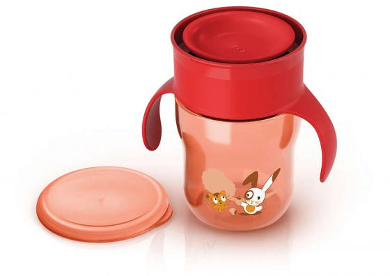 Поильник Avent Поильник-чашка 260 мл с 12 месяцев красный SCF782/00 авент кружка поильник взрослая чашка голубая розовая от 12 мес 260мл арт 83442 scf782
