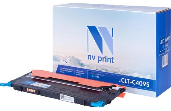 Картридж NV-Print CLT-C409S для Samsung CLP-310 CLP-310N CLP-315 1000стр Голубой