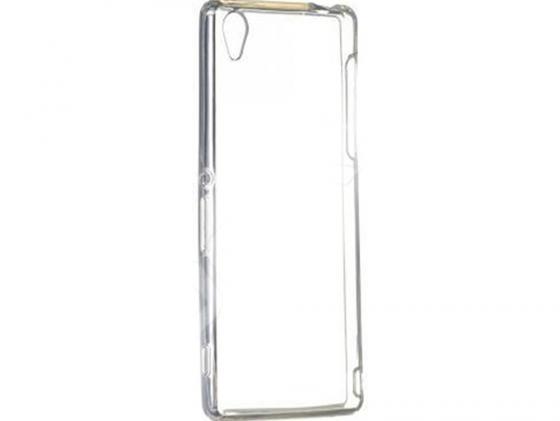 Чехол силикон iBox Crystal для Sony Xperia Z3+ (прозрачный) чехол силикон ibox crystal для htc desire 516 316 прозрачный