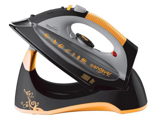 цена на Утюг ENDEVER Skysteam-707 1800Вт чёрный оранжевый