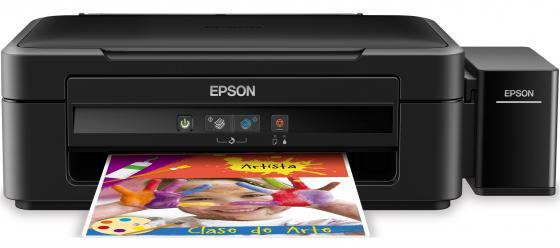 МФУ Epson Stylus L222 цветной A4 27/15ppm 5760x1440dpi USB C11CE56403 мфу струйный epson l222
