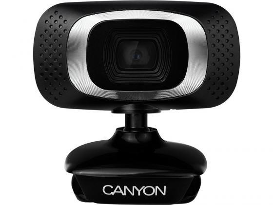 Веб-Камера Canyon CNE-CWC3 черный-серебристый canyon cne cpb78 white внешний аккумулятор