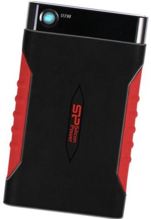 Внешний жесткий диск 2.5 USB3.0 1Tb Silicon Power Armor A15 SP010TBPHDA15S3L черный armor a80 компании silicon power в украине