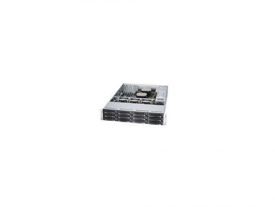 "цена на Серверная платформа Supermicro SSG-6028R-E1CR12H 2U 2xLGA2011 C612 16xDDR4 12x3.5"" SAS/SATA 2xGigabit Ethernet 920Вт"