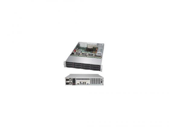Серверная платформа Supermicro SSG-5028R-E1CR12L серверная платформа intel r2208wt2ysr 943827