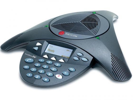 Фото - Телефон Polycom SoundStation2 для конференций черный 2200-16200-122 телефон