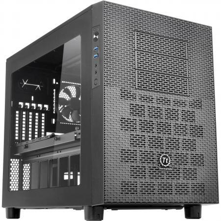 Корпус microATX Thermaltake Core X2 Без БП чёрный корпус thermaltake core g3 черный без бп