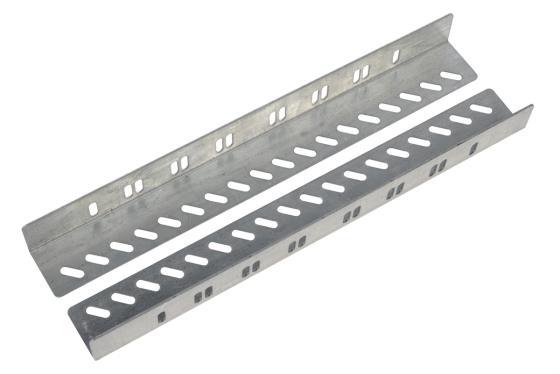 лучшая цена Комплект уголков опорных направляющие ЦМО УО-45У для напольных шкафов глубина 450мм нагрузка до 150кг